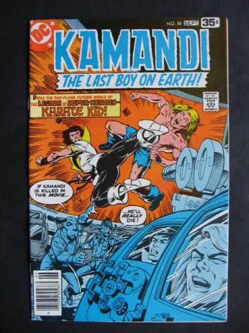 Kamandi, The Last Boy On Earth #58 Karate Kid