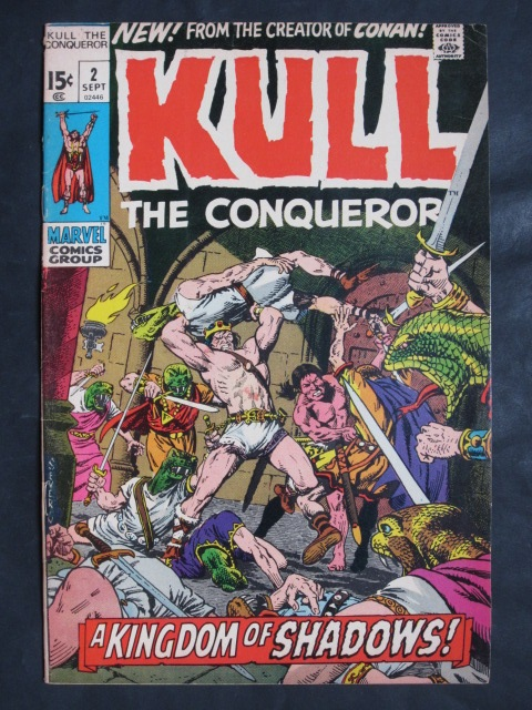 Kull The Conqueror (1971 series)  #2