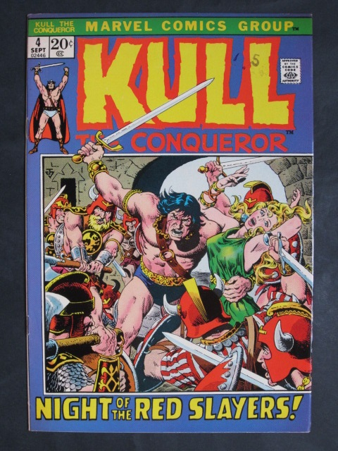 Kull The Conqueror (1971 series)  #4