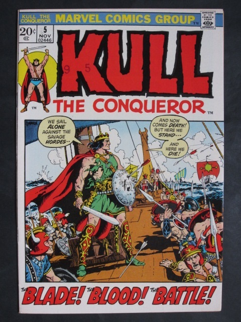 Kull The Conqueror (1971 series)  #5