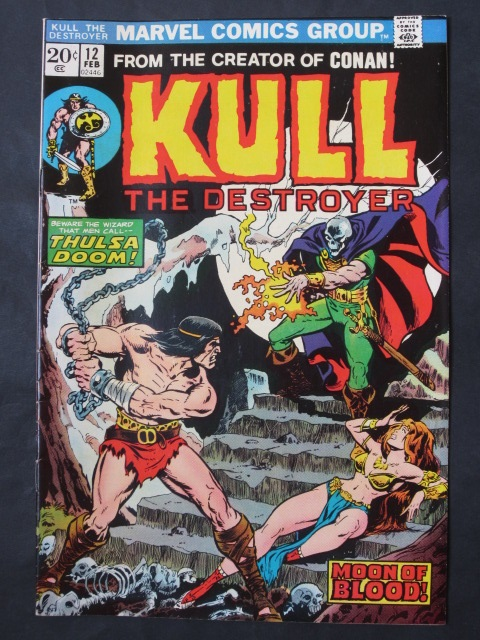 Kull The Destroyer (1971 series) #12