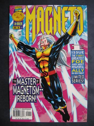 Magneto (1996 series) 1-4 Complete mini-series