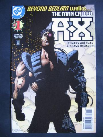 The Man Called A-X #1-8  Complete mini-series