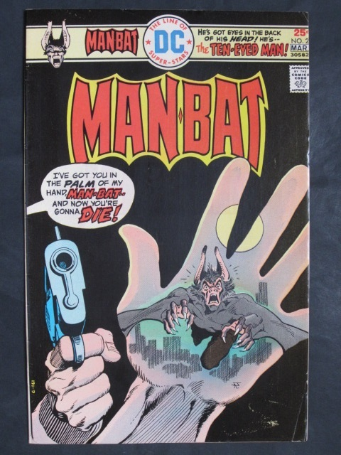 Man-Bat (1975 series) #2