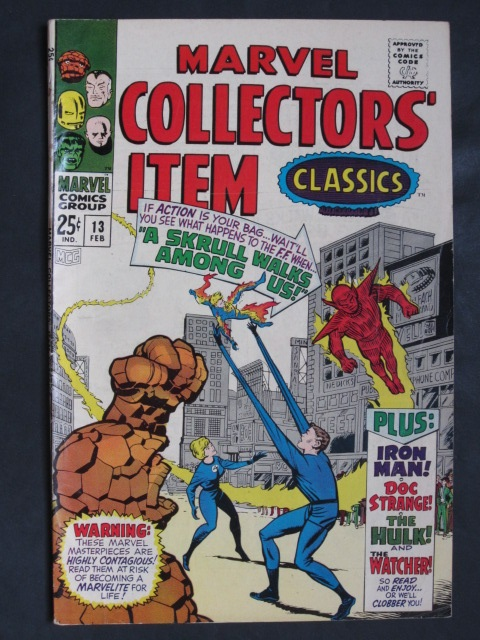 Marvel Collectors' Item Classics #13