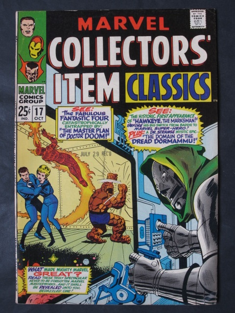 Marvel Collectors' Item Classics #17 VF+