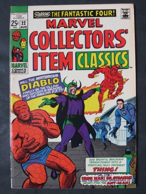 Marvel Collectors' Item Classics #22 VF