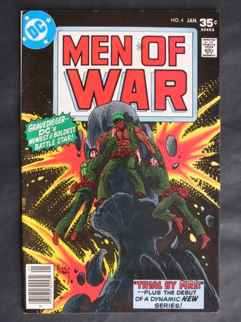 Men Of War (1977 series)  #4