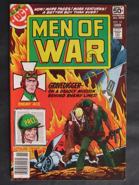 Men Of War (1977 series) #10