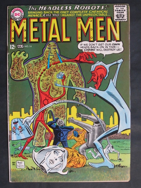 Metal Men (1963 series) #14