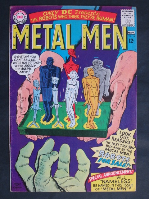 Metal Men (1963 series) #16