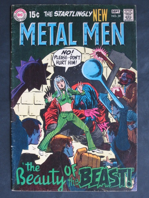 Metal Men (1963 series) #39