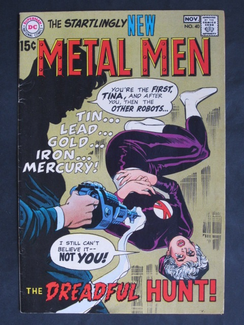 Metal Men (1963 series) #40