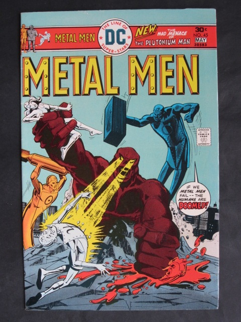 Metal Men (1963 series) #45