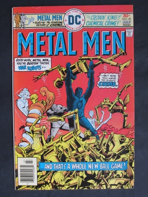 Metal Men (1963 series) #46