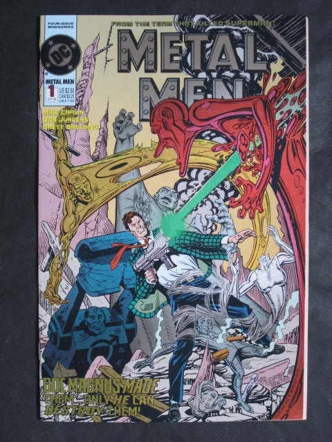 Metal Men #1-4 Complete mini-series