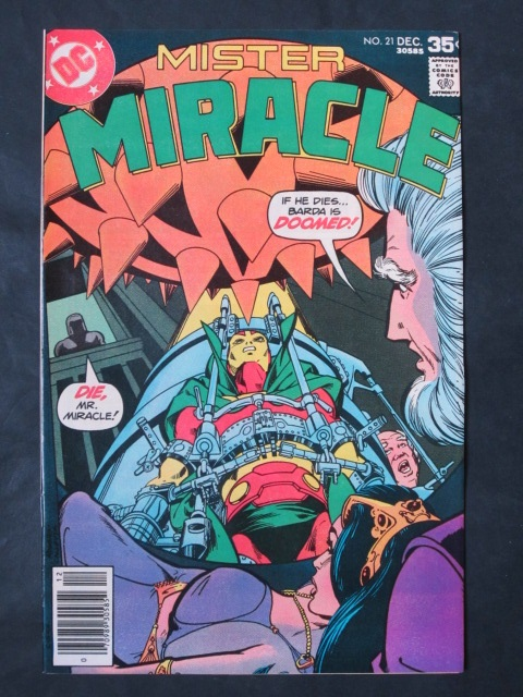 Mister Miracle (1971 series) #21