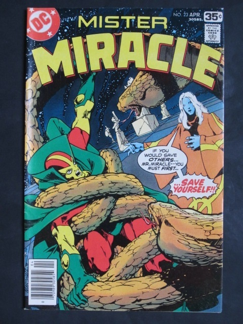 Mister Miracle (1971 series) #23