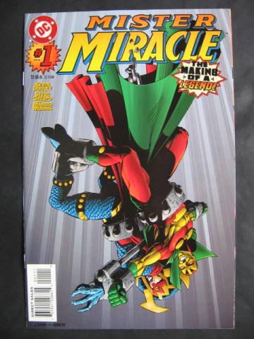 Mister Miracle (1996 series) #1-7 Complete mini-series