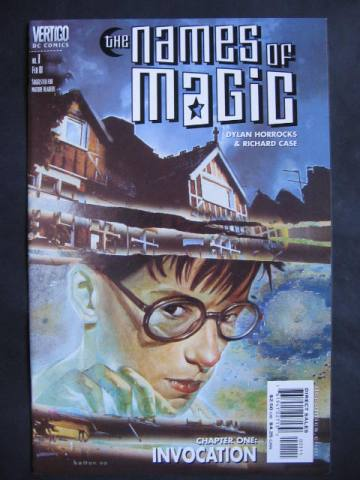 The Names Of Magic #1-5 Complete mini-series