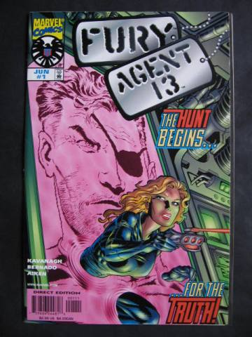Nick Fury And Agent 13 #1-2 Complete mini-series