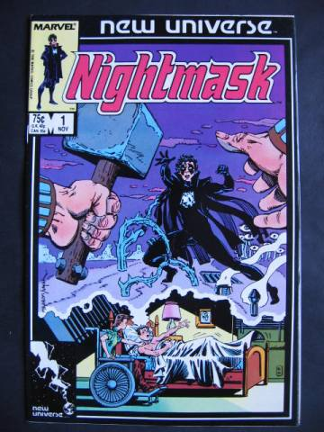 Nightmask #1-12 Complete maxi-series
