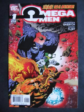 Omega Men (2006 series) #1-6  Complete mini-series