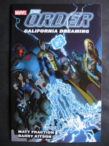 The Order TPB #2: California Dreaming