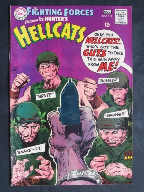 Our Fighting Forces #114 Hellcats