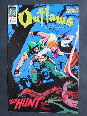 Outlaws #1-8 Complete mini-series