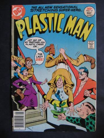 Plastic Man (1976 series) #17