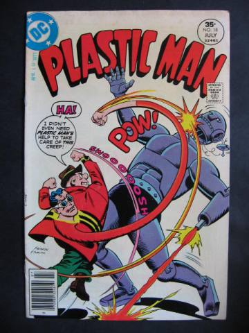 Plastic Man (1976 series) #18