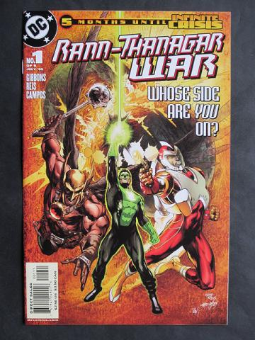 Rann/Thanagar War #1-6 Complete mini-series