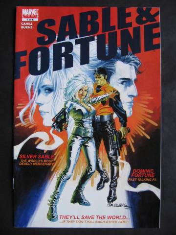 Sable & Fortune #1-4 Complete mini-series