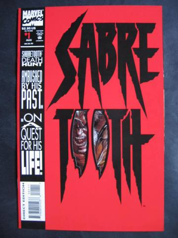 Sabretooth: Deathhunt #1-4 Complete mini-series