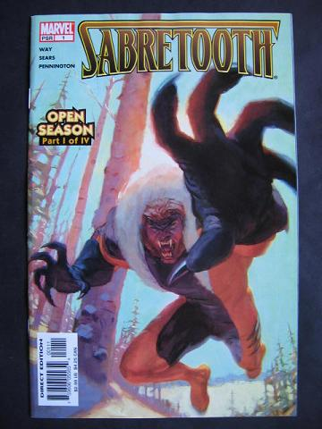 Sabretooth: Open Season #1-4 Complete mini-series