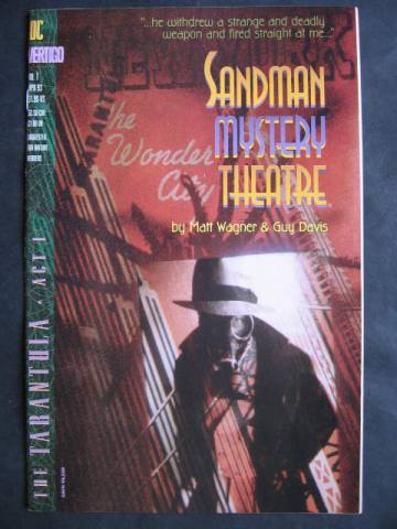 Sandman Mystery Theatre  #1-4 Set of 4 comics