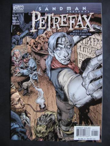 The Sandman Presents: Petrefax #1-4 Complete mini-series