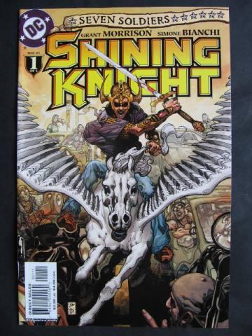 Seven Soldiers: Shining Knight #1-4 Complete mini-series