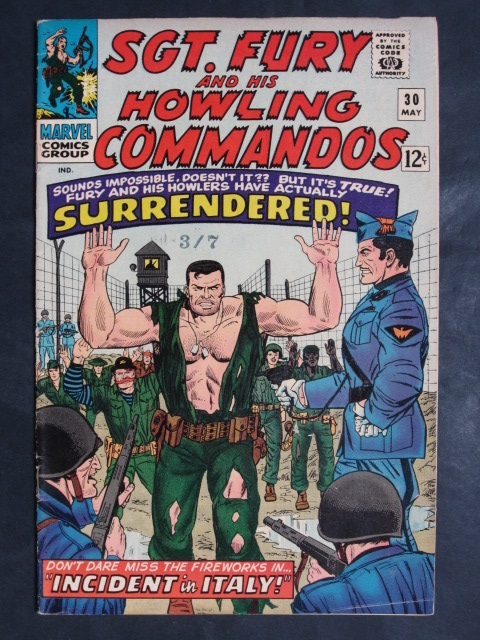 Sgt Fury and His Howling Commandos (1963 series) #30