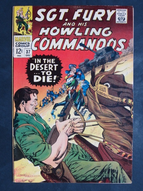 Sgt Fury and His Howling Commandos (1963 series) #37