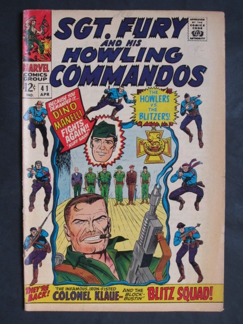 Sgt Fury and His Howling Commandos (1963 series) #41