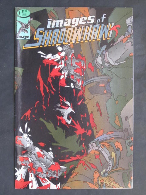 Images of Shadowhawk #1-3 Complete mini-series