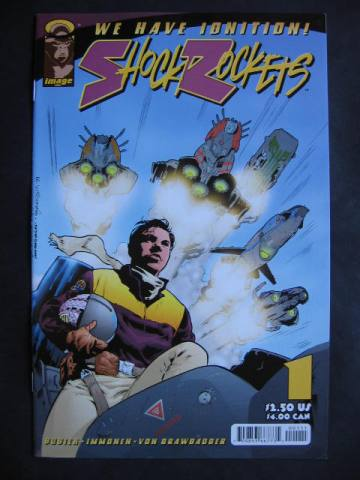 Shock Rockets #1-6 Complete mini-series
