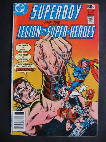 Superboy and The Legion of Super-Heroes (1949 series) #240