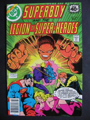 Superboy and The Legion of Super-Heroes (1949 series) #249