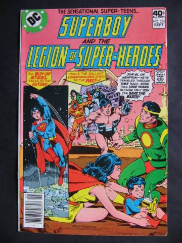 Superboy and The Legion of Super-Heroes (1949 series) #255
