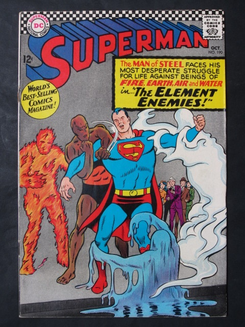 Superman (1939 series) #190