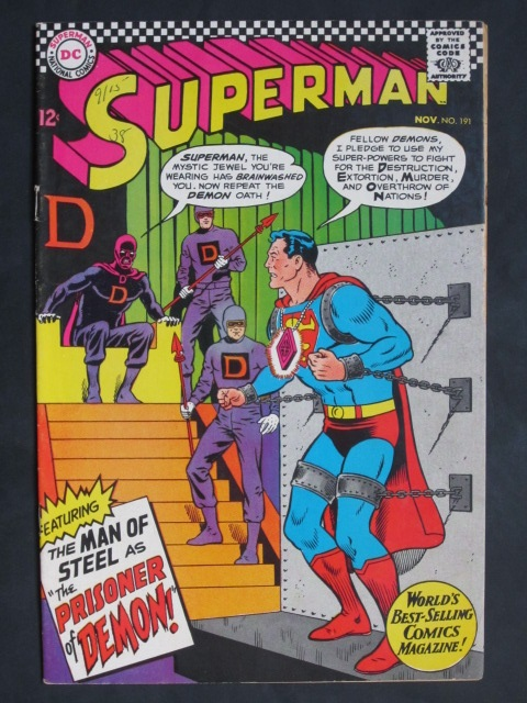 Superman (1939 series) #191