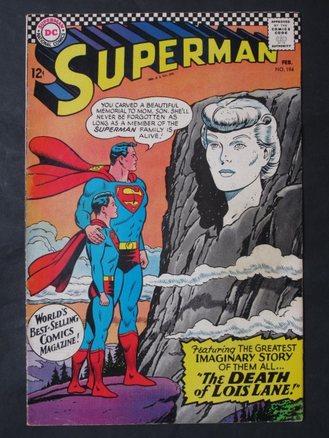 Superman (1939 series) #194 FN+